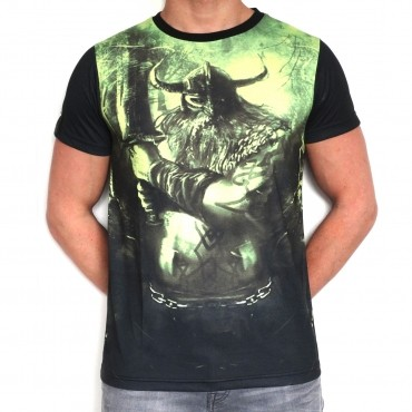 100% Hardcore T-Shirt Subl Viking Green