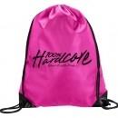 100% Hardcore Polyester bag Basic Pink