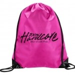 100% Hardcore Polyester bag Basic Pink