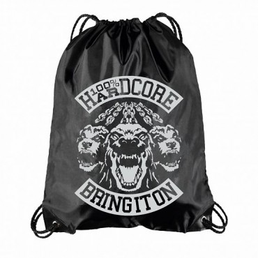 100% Hardcore Polyester bag Bring it on