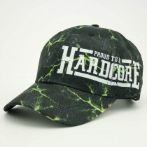 Proud to be Hardcore cap black/green