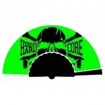 100% HARDCORE FAN HARDCOREBONE GREEN