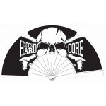 100% HARDCORE FAN HARDCOREBONE BLACK