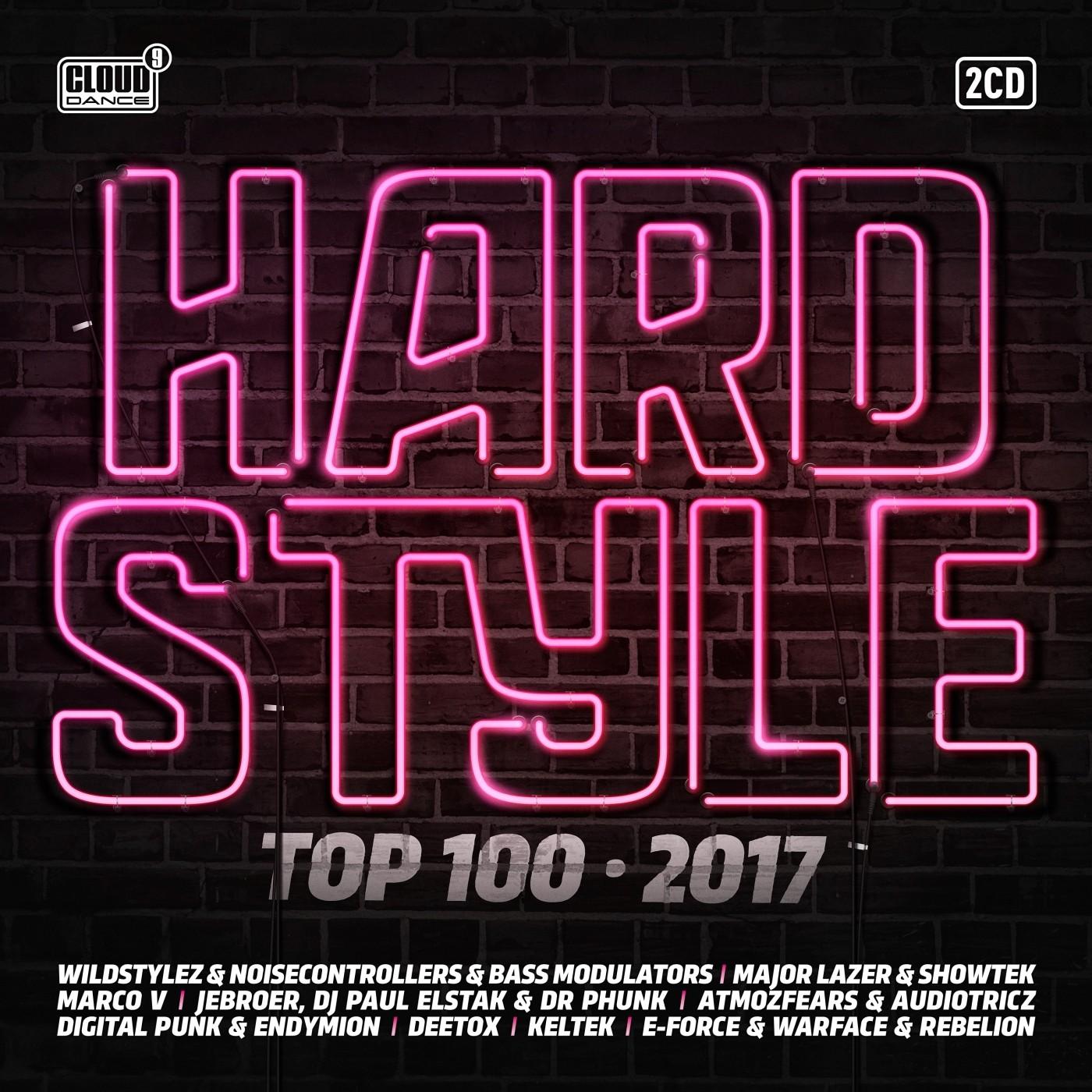 Hardstyle top 100 2017 cldm2017008 cd rigeshop for Hardstyle house