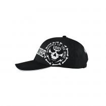 100% Hardcore Cap Bonecircle Black/White