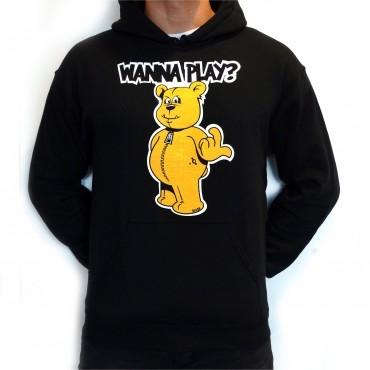 Black Wanna Play hooded