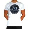Peacock Records Soccershirt white