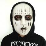 Horror Mask Halloween white/black