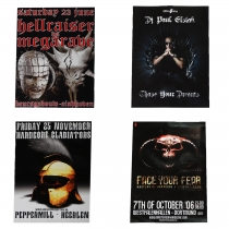Big Hardcore/Early Posterpack