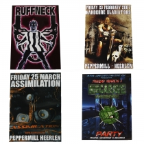 Big Hardcore/Early Posterpack 2