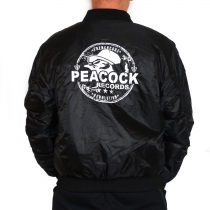 Peacock Records Bomber Jacket (embroided)