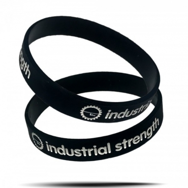 Industrial Strenght Silicone Wristband
