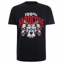 100% Hardcore shirt Army Dogs Red