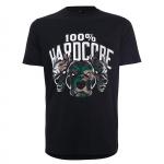 100% Hardcore shirt Army Dogs green
