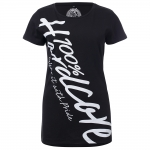 100% Hardcore Lady shirt basic