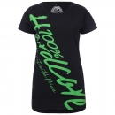 100% Hardcore Lady shirt basic green