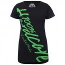 100% Hardcore Lady shirt basic green