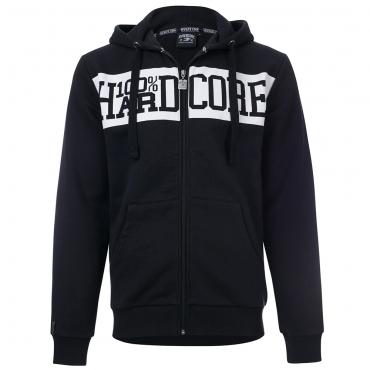 100% Hardcore Hooded zipper basic 3.0