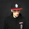 DRS Snapback Red Stitched