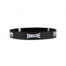 100% Hardcore silicone wristband B/W