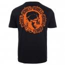 TERROR T shirt Circle Of Death Orange