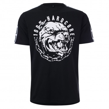100% HARDCORE T-SHIRT AGGRESSIVE BREED