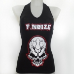 Fnoize Red V-Neck top S