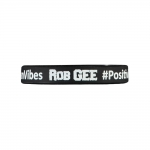 Rob Gee Silcone wristband