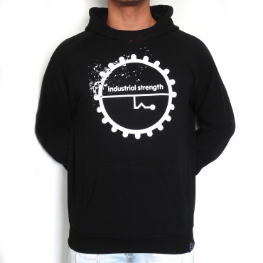 Industrial Strenght Logo Hooded