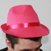 Pink party hat