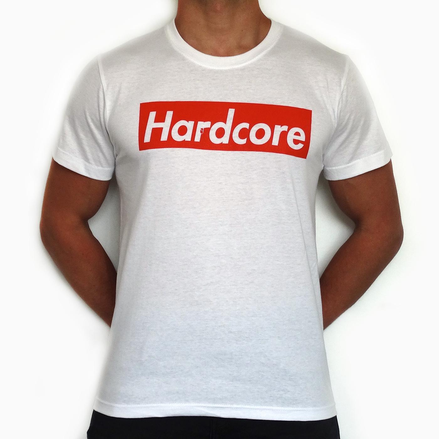 supreme hardcore t-shirt white (suphcssw) shortsleeve - rigeshop