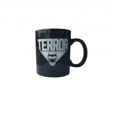 TERROR coffeecup skull