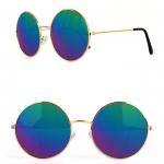 Blue oil glasses
