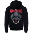 100% Hardcore Hooded Zip Till i Die