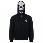 UPTEMPO MASK HOODED ZIPPER DAMNATION