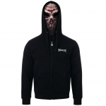100% HARDCORE HOODED ZIPPER MASK MASSACR