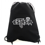 Estasia String bag Silver open