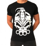 DRS Big logo print t shirt