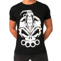 DRS Big logo print t shirt