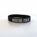 Hardcore Italia silicone wristband