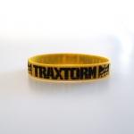 Traxtorm 20 years silicone wristband