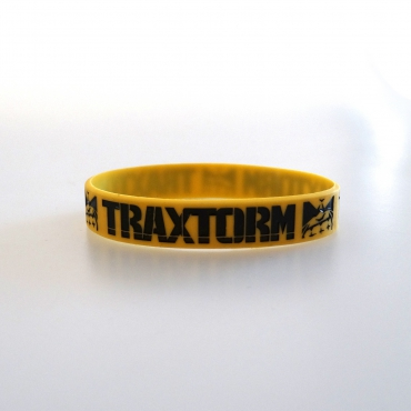 Traxtorm 20 years silicone wristband