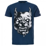 100% Hardcore Shirt The Raged Blue