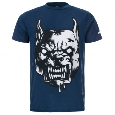 100% Hardcore Shirt The Raged Blue