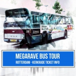 Megarave 27-07-2019 Bus tour ticket