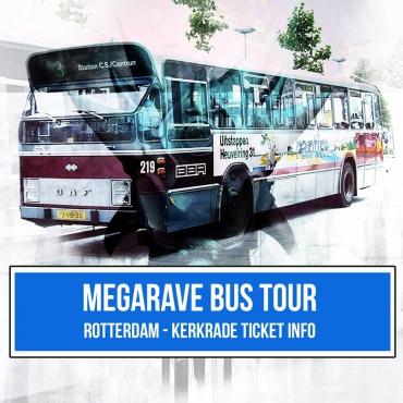 Megarave 27-07-2019 Bus tour ticket