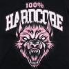 100% Hardcore Lady Shirt Wolf