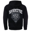 100% Hardcore Hooded Zipper The Wolf