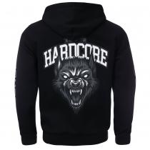 100% Hardcore Hooded Zipper The Wolf