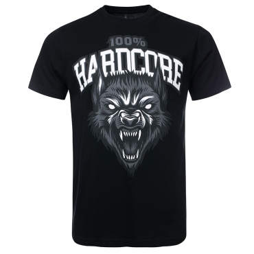 100% Hardcore T-Shirt The Wolf